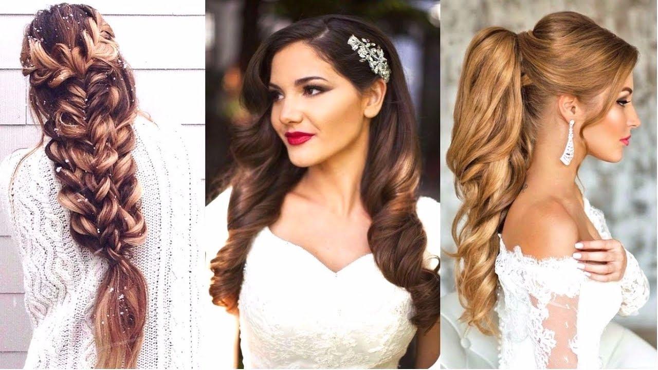 Прически на свадьбу простые фото на средние волосы