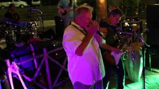 Blues Brothers Inspiration, Donnie Walsh playing live at Mardi Gras in Flamingo, Costa Rica
