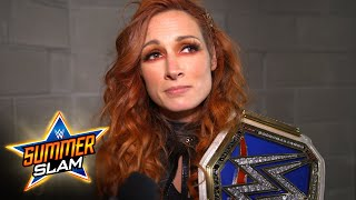 Becky Lynch is back: WWE Digital Exclusive, August 21, 2021