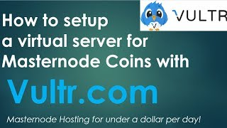 How to Create a CHEAP VPS (Virtual Private Server) for hosting Masternodes and POS wallets