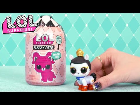 how-do-you-unbox-fuzzy-pets?- -lol-surprise-makeover-series
