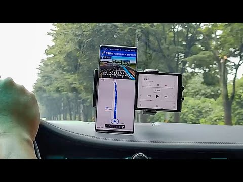 LG Wing navigation and music playback - Android Authority