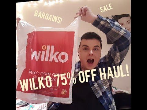 WILKO 75% OFF HAUL | SALE | DISCOUNT | HIGHSTREET |