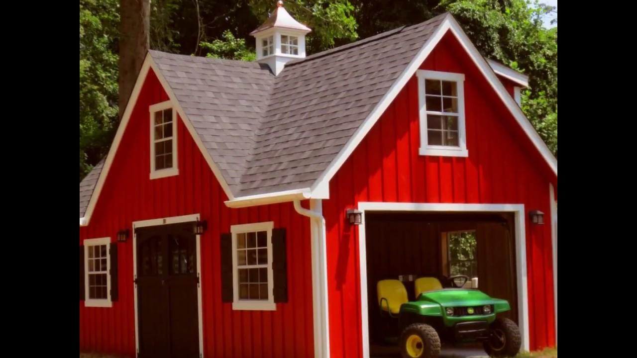 storage outlet alans garages sheds prefab virginia garage amish va factory watch