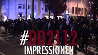#DD2112 | Unkommentierte Aufnahmen des Demoabends