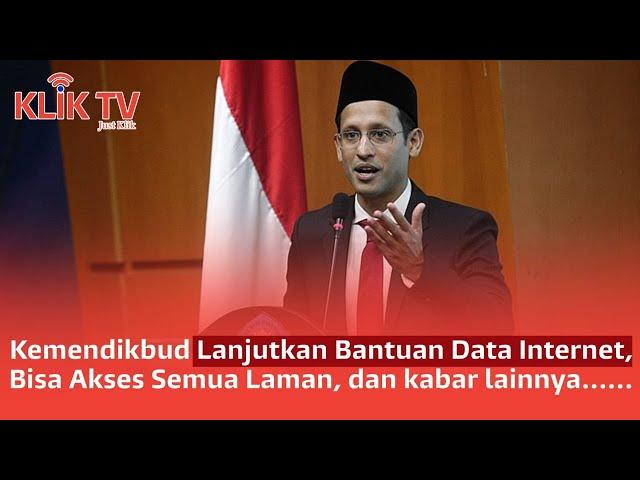 [3 KLIK TODAY] Mendikbud Lanjut Bantuan | Produksi Beras Potensi Naik | Jokowi Cabut Perpres Miras