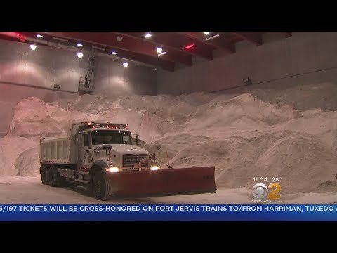 NYC Prepares As Snowstorm Bears Down
