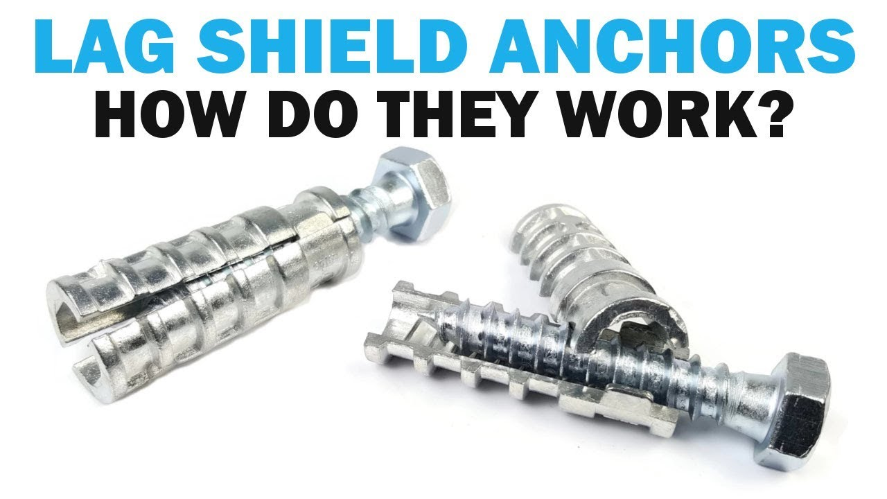 What Are Lag Shield Concrete Anchors Fasteners 101 Youtube