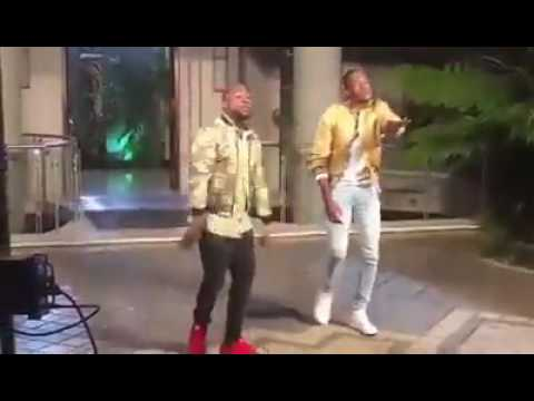 Jah Prayzah ft Davido (Behind the scenes)