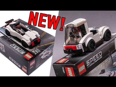 pictures with new lego speed champions porsche set. Black Bedroom Furniture Sets. Home Design Ideas