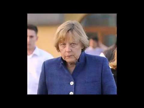 Merkel im Führerbunker
