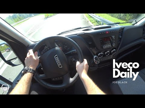Iveco Daily 2.3 (100 kW; 136 HP) HI-MATIC | 4K POV Test Drive #114 Joe Black
