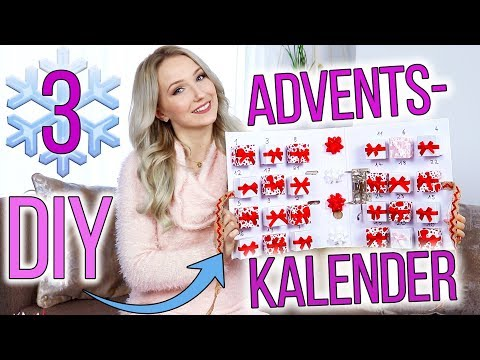 3 DIY ADVENTSKALENDER + 40 IDEEN ZUM BEFÜLLEN! TheBeauty2go