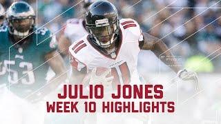Julio Jones Racks Up 135 Yards! | Falcons vs. Eagles | NFL Week 10 Player Highlights