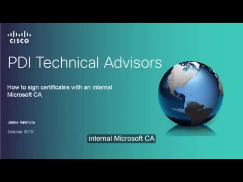 How to sign certificates with a Microsoft CA