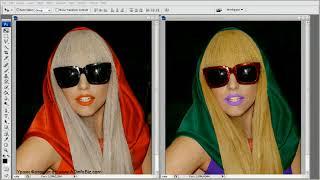 Фотошоп CS3 Изменить цвет Волос, Губ, Одежды в фотошопе(Как БЕСПЛАТНО сделать свой интернет в 2 раза быстрее за 5 мин: http://kurs-video.com Уроки Фотошоп от: http://www.ADinfoBiz.com..., 2010-04-15T03:14:01.000Z)