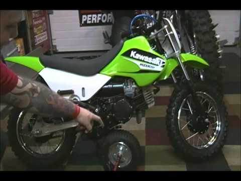 KAWASAKI KDX 50 REVIEW - YouTube