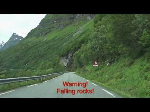 Geiranger Downhill Music Video, Norway