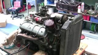 BMW 501 V8 Probelauf