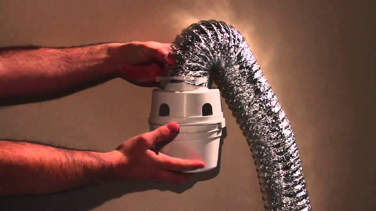 Dundas Jafine - Features & Benefits: Indoor Dryer Vent Kit - YouTube
