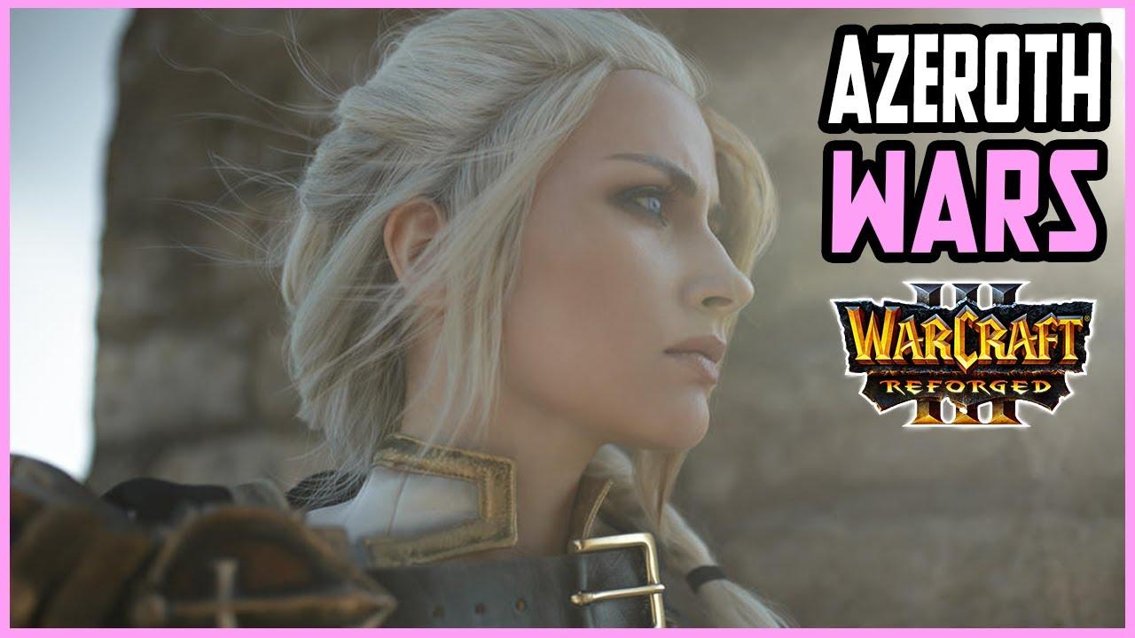 Azeroth Wars Reforged | EPIC Dalaran Game | Warcraft 3 Customs