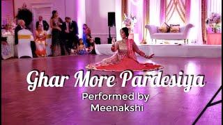 Ghar More Pardesiya | Wedding Reception Performance | Meenakshi | Alia Bhatt | Madhuri Dixit