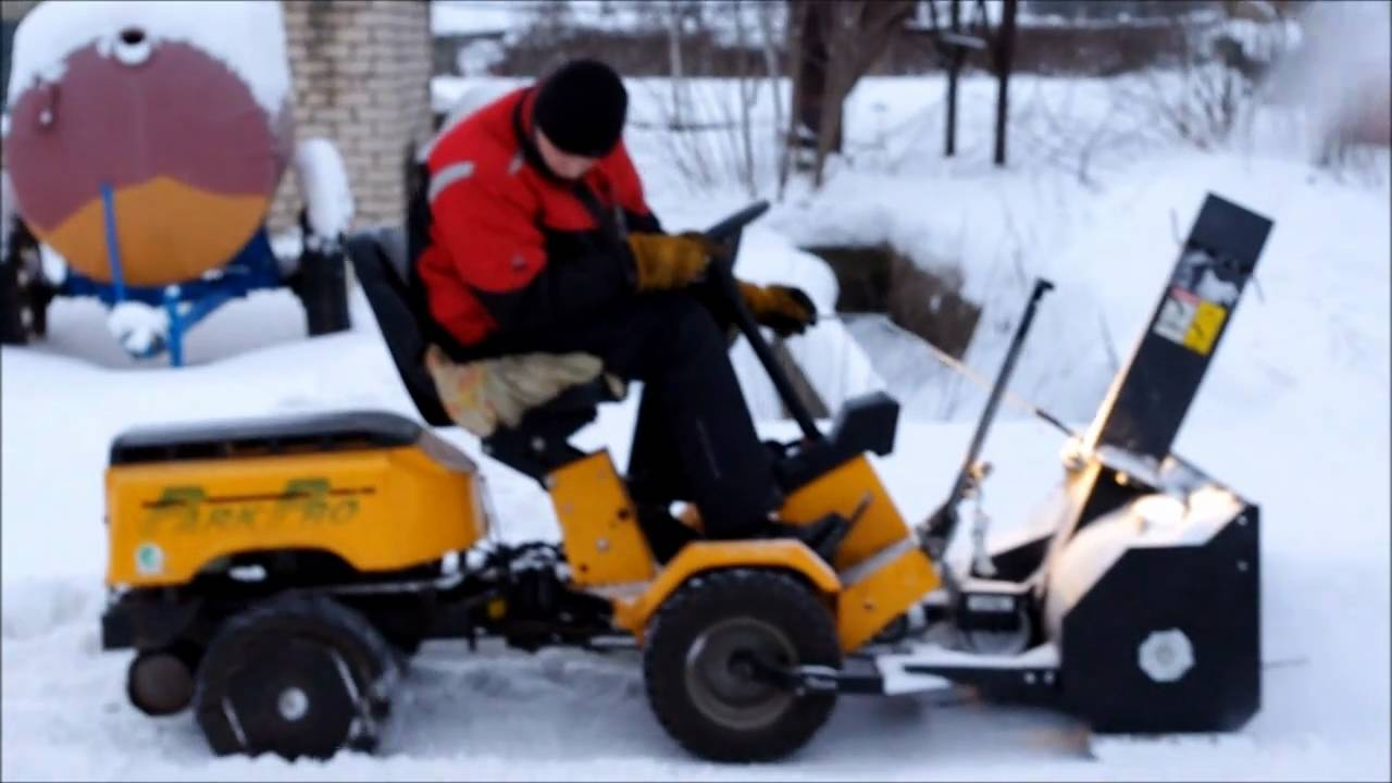 Snow Blower 24 >> stiga park pro snow blower - YouTube