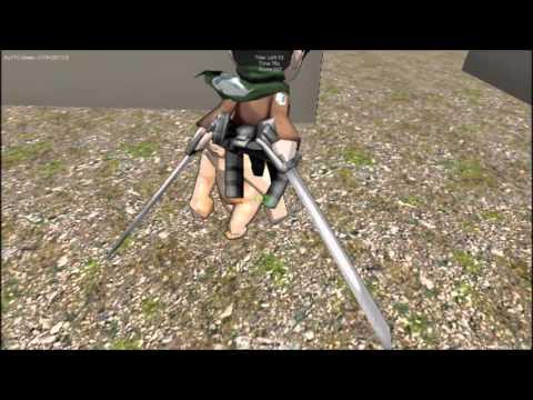 Attack on Titan - Flash Game - YouTube