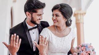 Indian Christian Wedding  | Kerala Wedding 2021 |  Highlights | Aswin & Merin🖤