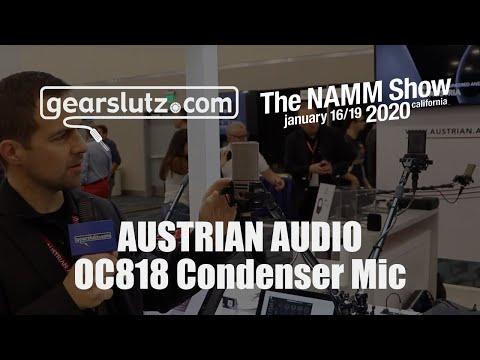 Austrian Audio OC818 Multi-pattern Dual Capsule Studio Condenser Microphone - Gearslutz @ NAMM 2020