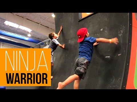 Lelyo Family Ninja Warrior Day