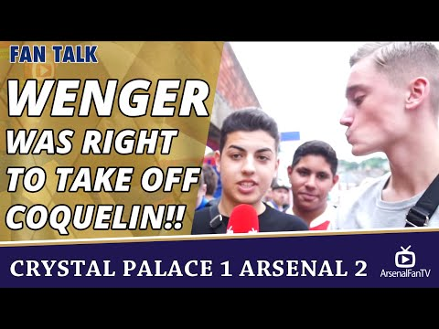 Wenger Was Right To Take Off Coquelin!!  | Crystal Palace 1 Arsenal 2
