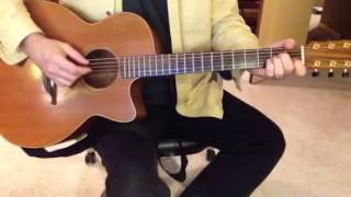 What a glorious night acoustic guitar