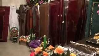 видео Производство гробов - Ритуальные изделия оптом