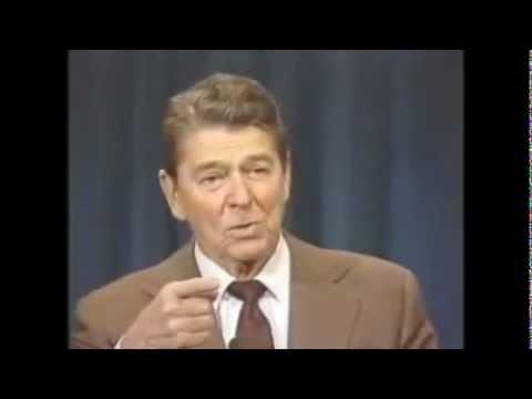 Reagan Joke:  Curfew in Moscow