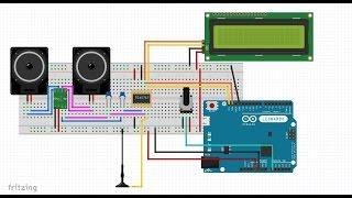 Repeat youtube video 56. Jak z Arduino zrobić radio używając modułu FM TEA5767
