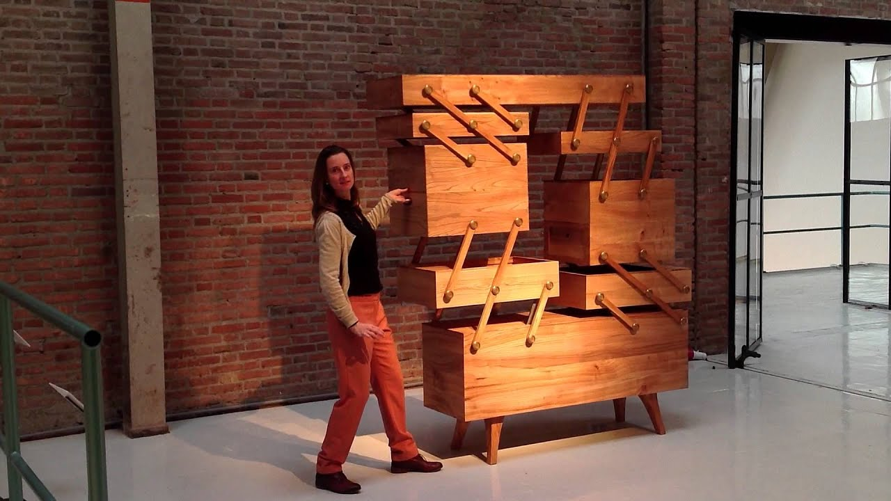 Sewing Box Cabinet Designed By Kiki Van Eijk