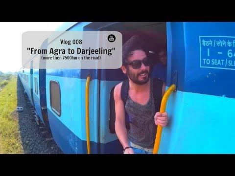"vlog008 (HD) - India ""From Agra to Darjeeling"""