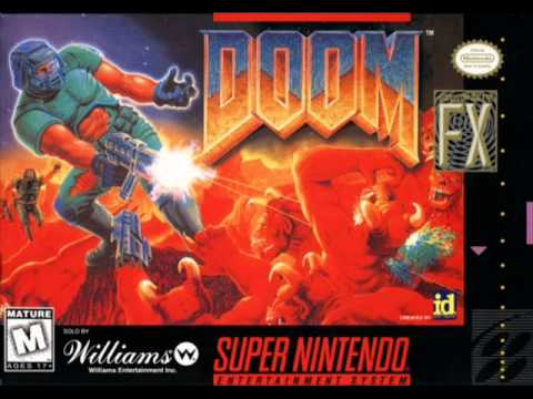 Doom SNES Soundtrack - E1M3 - Dark Halls