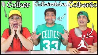 COLHER, COLHERZINHA OU COLHERZONA !! Desafio