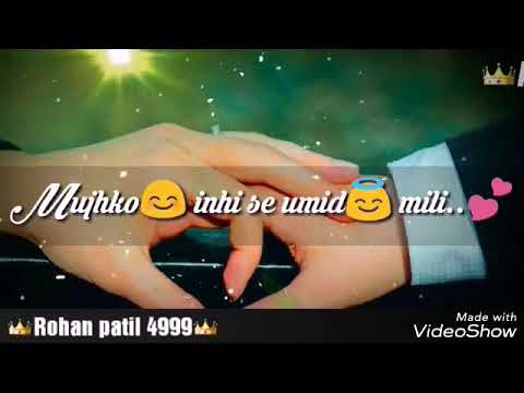 Teri MusKurahat Hai Takat Meri Ek Villain Song 2017 {Whatsapp Status Video}