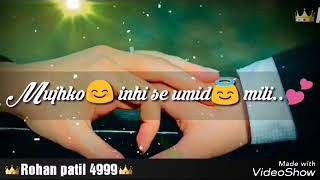 Teri MusKurahat hai Takat Meri Ek Villain Song 2017 {Whatsapp Status Video}