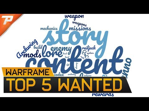 Warframe: Top 5 Wanted Additions To Warframe - Endgame, Story, System, Quests, Content thumbnail