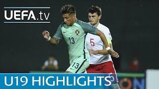 2017 U19 highlights: Georgia 0-1 Portugal