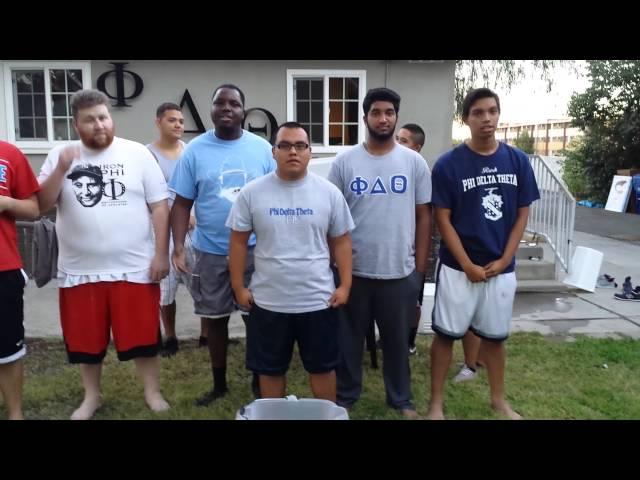 CSUN Phi Delta Theta : ALS Ice Bucket Challenge - Cal Zeta Chapter