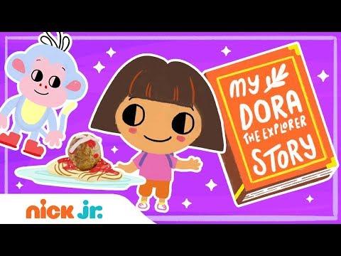 Dora the Explorer: Spaghetti Land Rescue! 🍝 Story Time Ep 4 | Nick Jr.