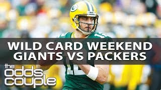 NFL Picks | NY Giants vs Green Bay Packers | Wild Card Betting Preview