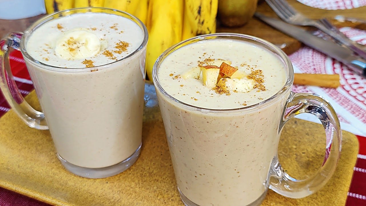 Lose Weight With This Sugar Free Smoothie | 2 Breakfast Smoothie Recipe | Oats Smoothie Recipe