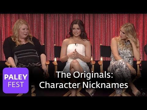 The Originals  Danielle Campbell, Leah Pipes, Joseph Morgan on Character Deaths and Nicknames