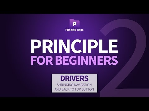 Principle for Beginners (Part 2) - Using the Drivers Panel